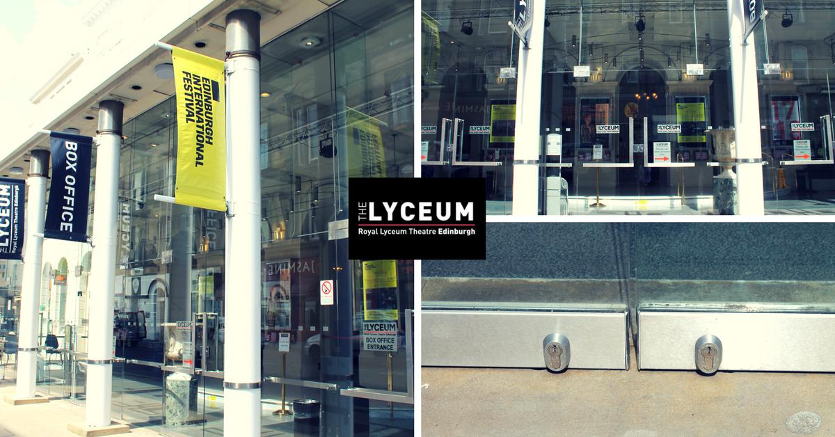 Manual Door Repair Royal Lyceum Theatre